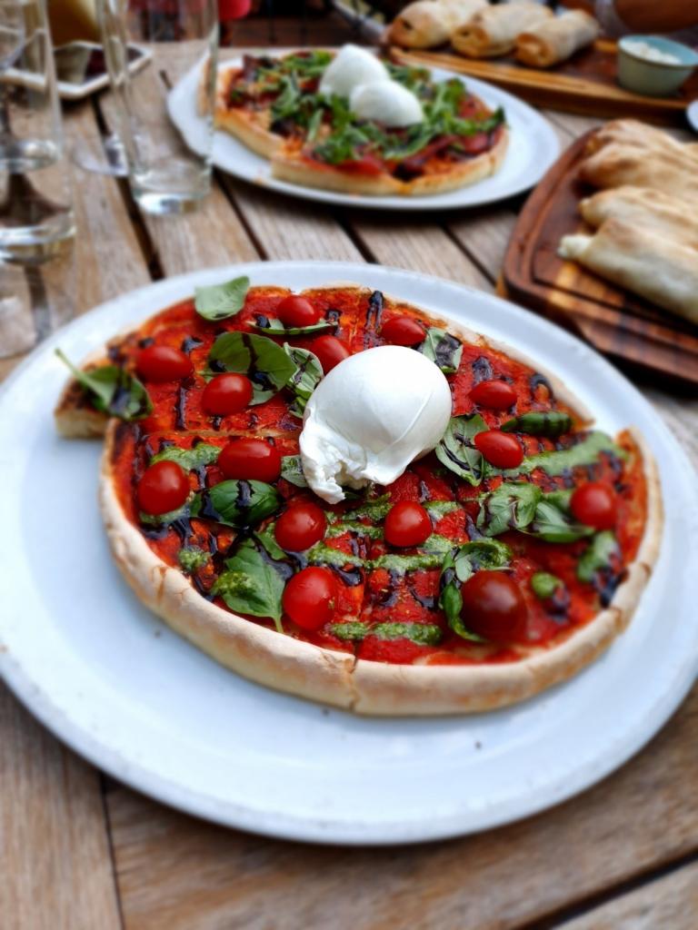 Brezglutenska pizza Toscana