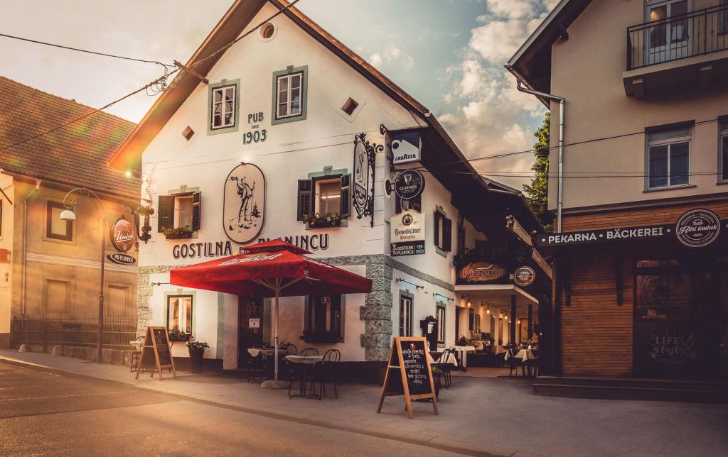 Gostilna Pri planincu, Bled