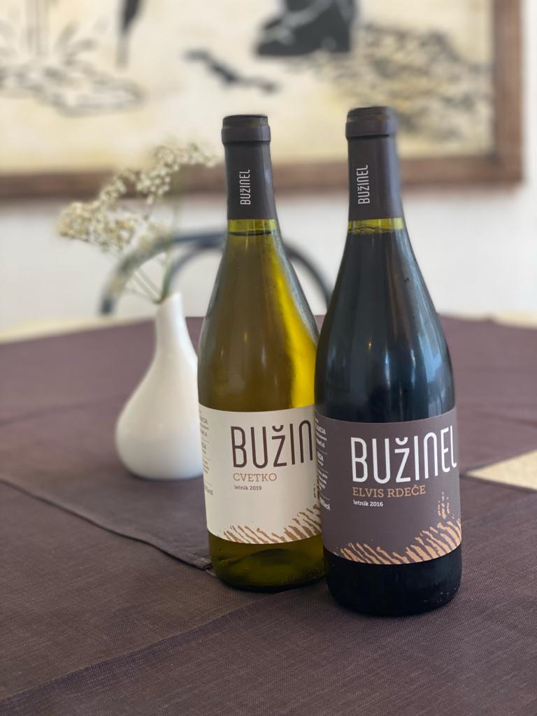 Buteljčno vino, Bužinel