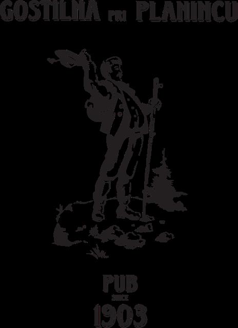 Logo Pri Planincu, Bled